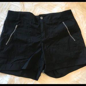 Casual black shorts